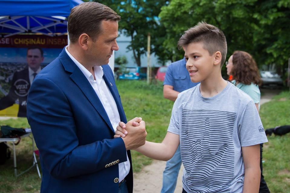 Andrei Năstase, întâlniri Ciocana3