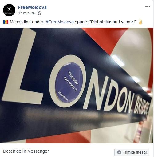 mesaj Londra