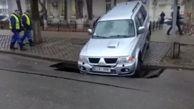 asfalt surpat Chișinău | Sursa: facebook.com/eduard.bizgu