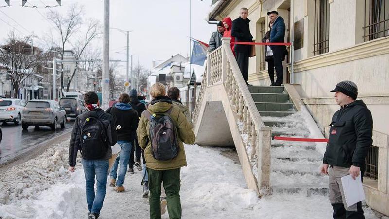 Occupy Guguță la CEC | Sursa: facebook.com/occupyguguta