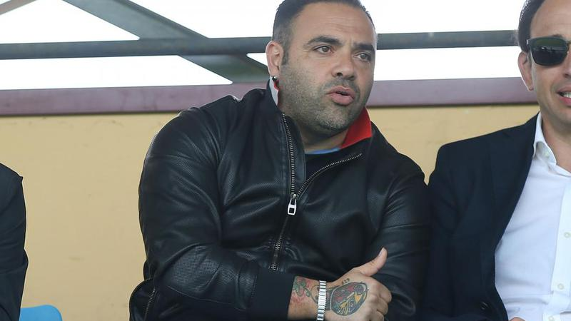Fost atacant al naționalei Italiei, condamnat la închisoare pentru legături cu mafia siciliană