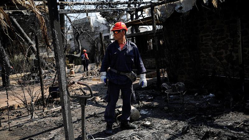 incendiu grecia5 | Sursa: Reuters