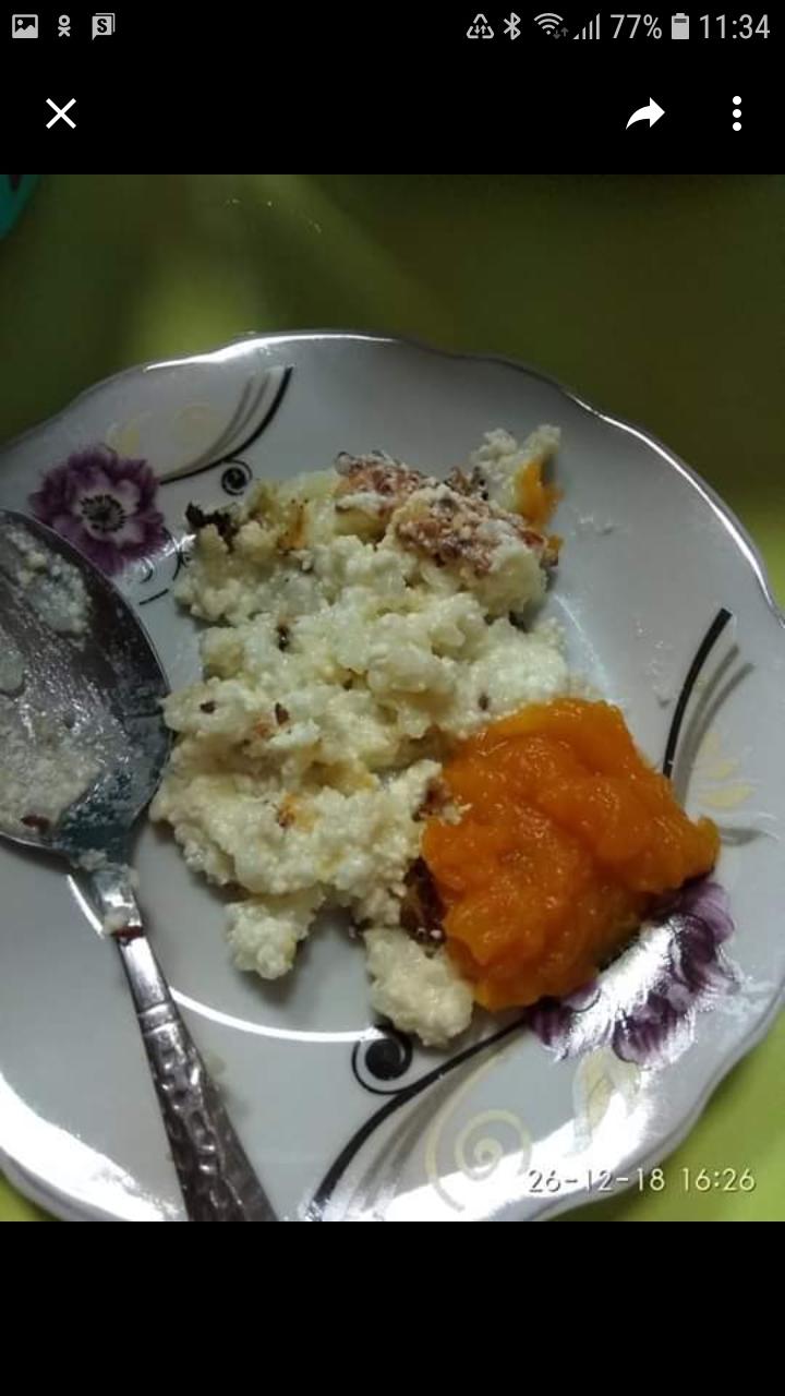 mâncare grădiniță