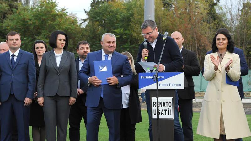Usatâi la Bălți | Sursa: facebook.com/RU1.md