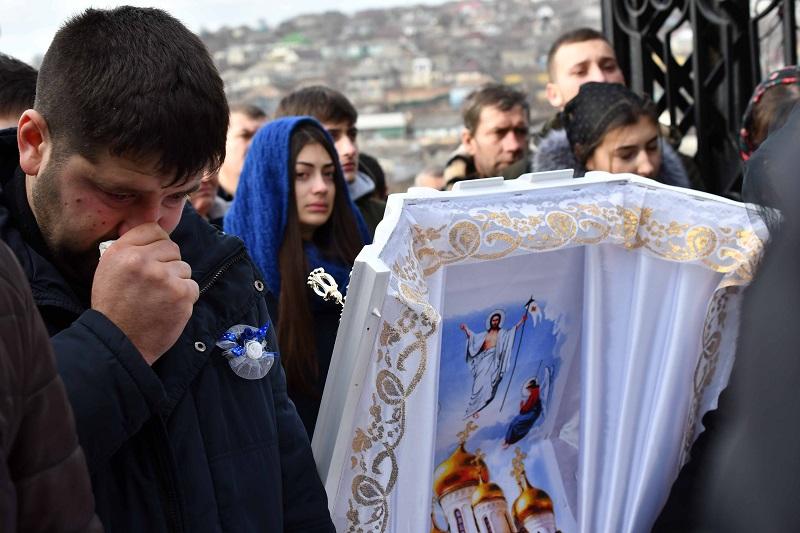 înmormântare Dumitru Jomir Costești