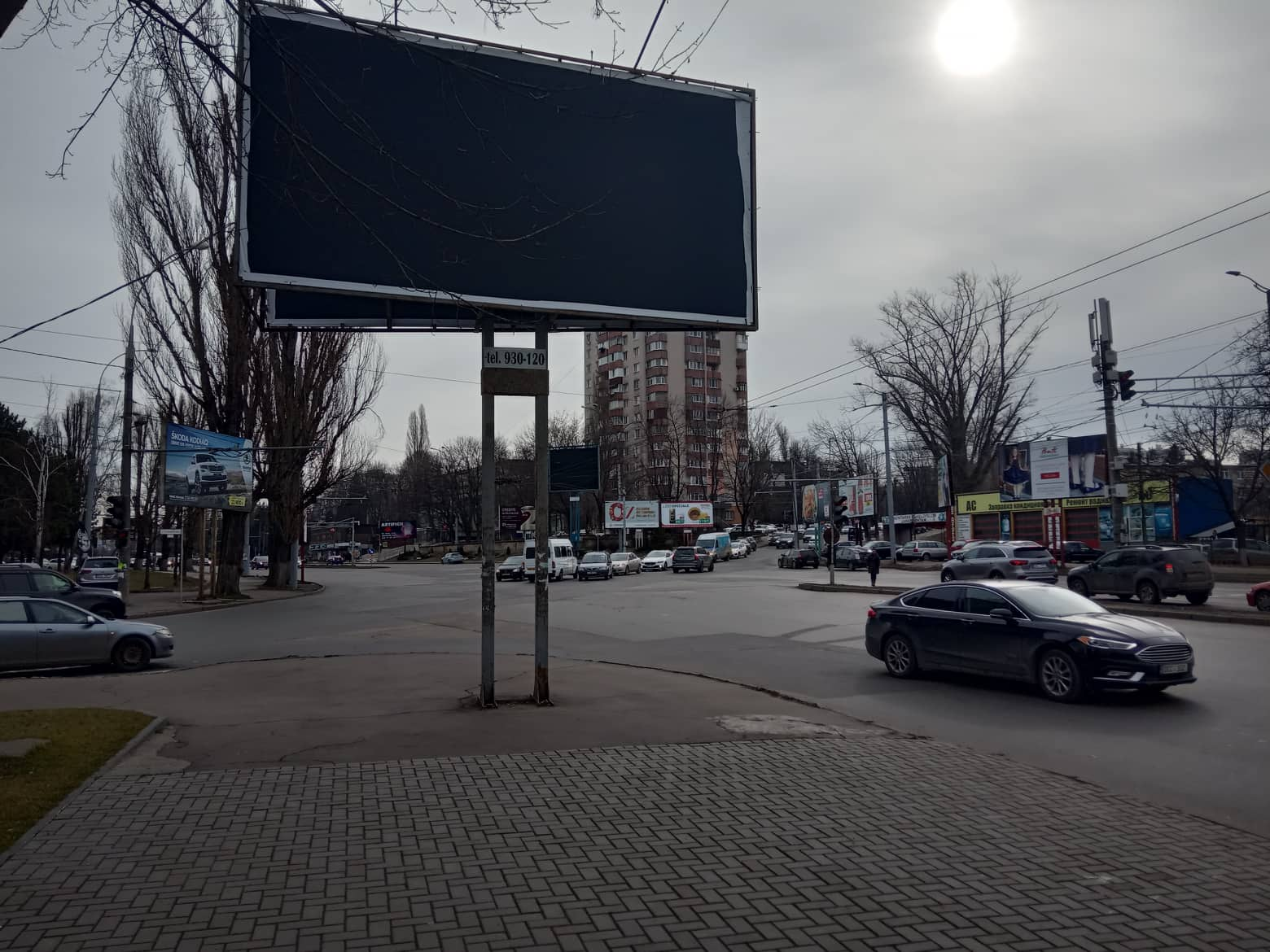 străzi Chișinău panouri