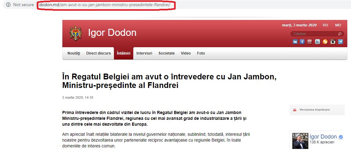 gafă Dodon