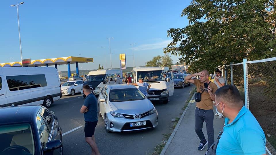 protest Leușeni